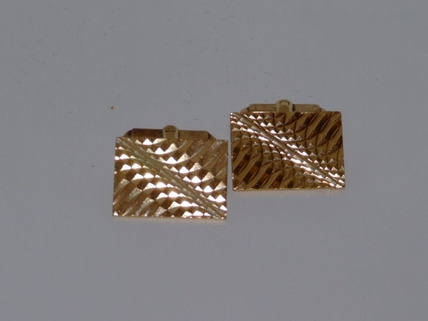 0714 Gold Cuff-Links