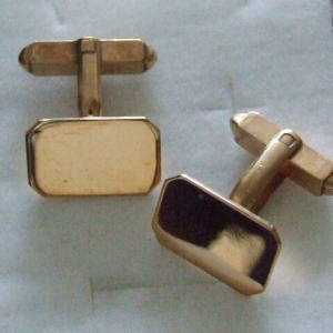 9ct gold Cuff-Links
